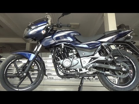 2017 BAJAJ PULSAR 180 BS IV AHO WALK AROUND REVIEW