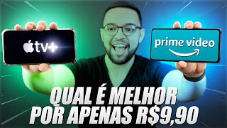 APPLE TV+ vs PRIME VIDEO da AMAZON | COMPARATIVO!!
