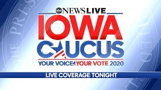Gambar cover LIVE: Iowa Caucus in the 2020 Democratic Primary - ABC News Live