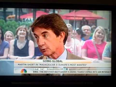 Kathie Lee Gifford forgets MARTIN SHORT wife is dead on Today : HUGE MISTAKE May 30 2012...