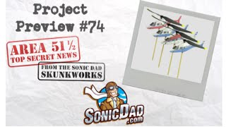 Area 51 1/2 - Foam Board Helicopter - SonicDad Project #74 Classified Preview