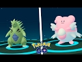 TYRANITAR & BLISSEY +3500CP! BEST EVOLUTIONS EVER IN POKÉMON GO!