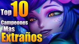 top 10 campeones MAS EXTRAÑOS