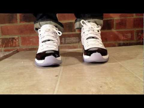 Air Jordan Retro 11 Concord (2011 Sneaker Review)