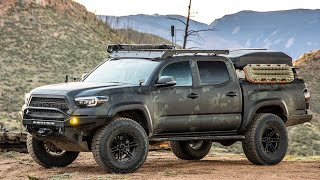 OVERLAND Built Tacoma Bug Out Rig Walk Around - LLOD Tacoma Build
