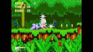 Sonic the Hedgehog 3 and Knuckles Hyper Sonic Gameplay