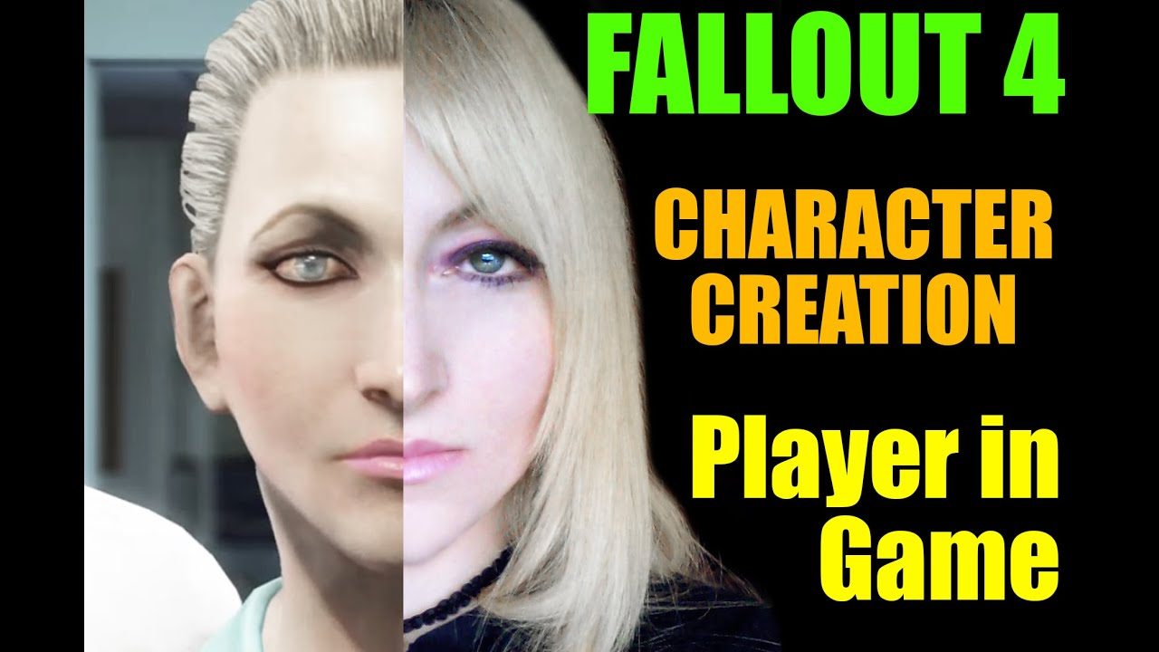 Fallout 4 put yourself in the game character creation youtube fallout 4 put yourself in the game character creation solutioingenieria Image collections