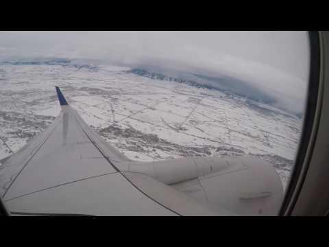 [HD] [GoPro] United Airlines Boeing 737 | Bozeman to Denver | Full flight VLOG #3