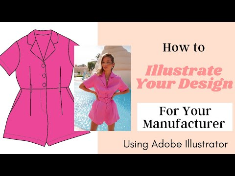 How To Illustrate Your Fashion Designs Part 1 Youtube