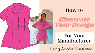 How to Illustrate your Fashion Designs - PART 1