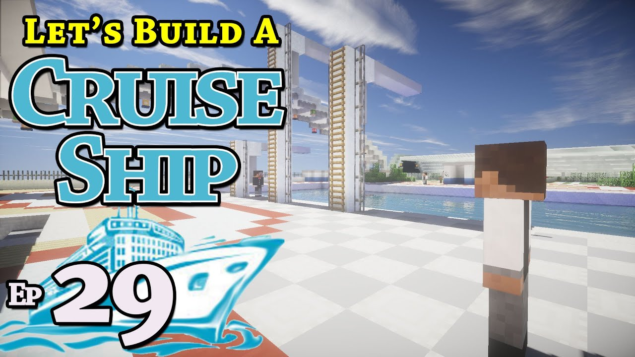 how to build a cruise ship on minecraft