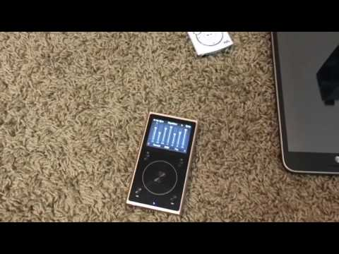 FiiO X1 2nd generation High Res music player actual Sound quality.