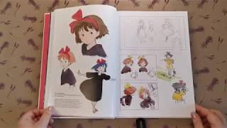 The Art of Kiki's Delivery Service (Hardcover) - Ведьмина служба доставки Арт альбом