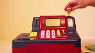 LEARNING RESOURCES Educational Teaching Cash Register Toy REVIEW- Learn to Add and Subtract