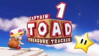 Let's Play CAPTAIN TOAD: TREASURE TRACKER Part 1: Ein kleiner Pilz & sein großes Abenteuer