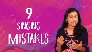 9 Singing mistakes   VoxGuru ft. Pratibha Sarathy