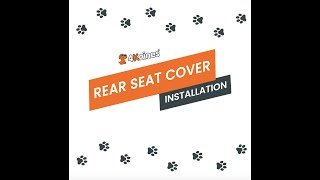 Dog Seat Cover Rear Seat Install Tips - 4Knines