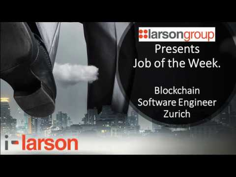 Blockchain Software Engineer - Zurich