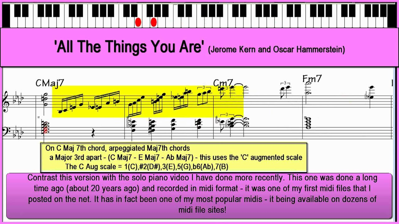 All the things you are jazz piano tutorial youtube all the things you are jazz piano tutorial hexwebz Choice Image