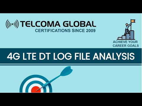 4G LTE DT (Drive Test) Log file analysis on TEMS Investigation