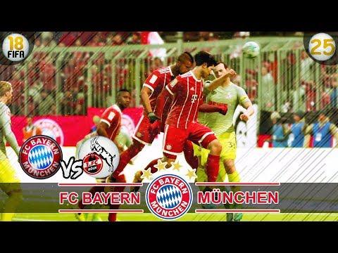 FC Bayern München vs 1. FC Köln | Fifa 18 Trainerkarriere #25