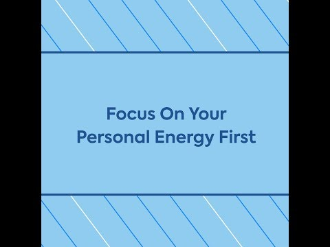 Focus On Your Personal Energy, w/ John Lee Dumas