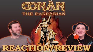 Conan the Barbarian (1982) 🤯📼First Time Film Club📼🤯 - First Time Watching/Movie Reaction & Review
