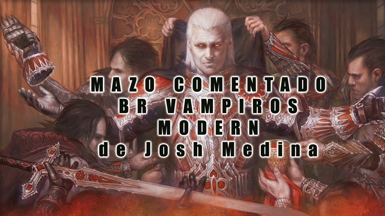 Magic Modern Mazo Comentado Br Vampiros Youtube