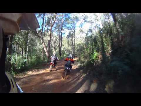 dirtbike trail ridehelmet cam Sawmill settlement mt buller open riding