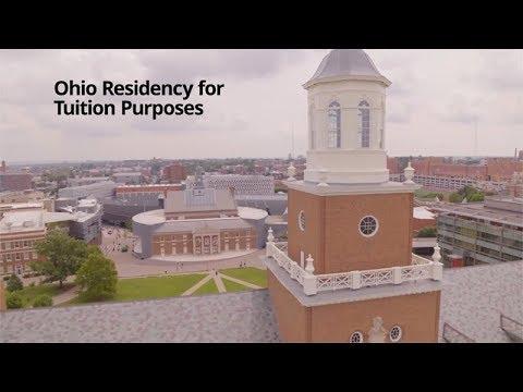 Ohio Residency for Tuition Purposes, University of Cincinnati