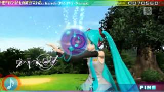 Hatsune Miku Project Diva Pc 3.2 (HD v1.2) gameplay 2