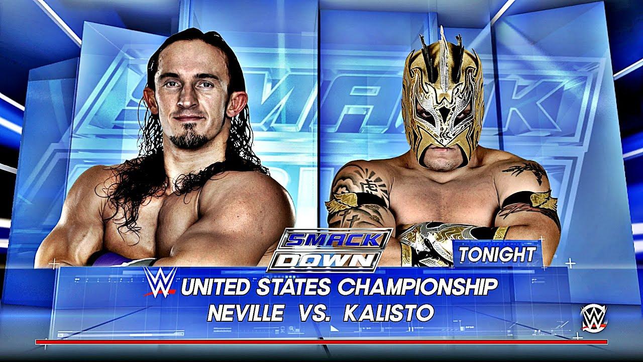 Download Kalisto Vs Neville: WWE US Championship Smackdown Jan. 28, 2016 1080p HD