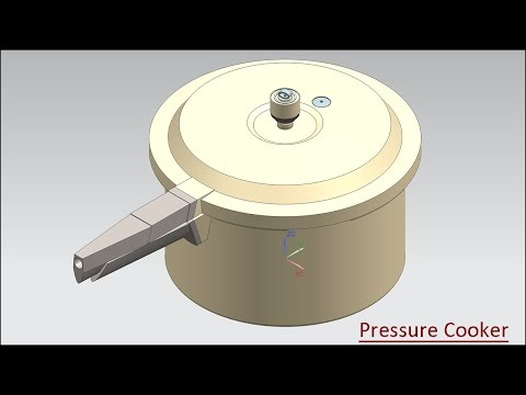 Pressure Cooker (Volume-3) Video Tutorial -- Siemens NX