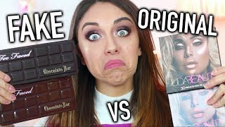 MI TRUCCO CON PRODOTTI FALSI! FAKE VS ORIGINAL PRODUCTS