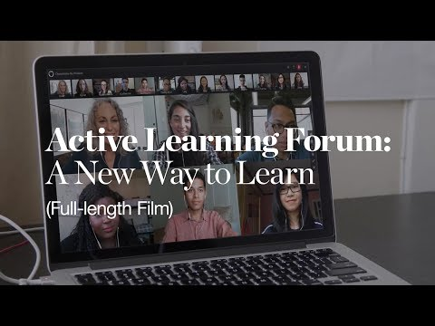 Active Learning Forum: A New Way to Learn (full length)
