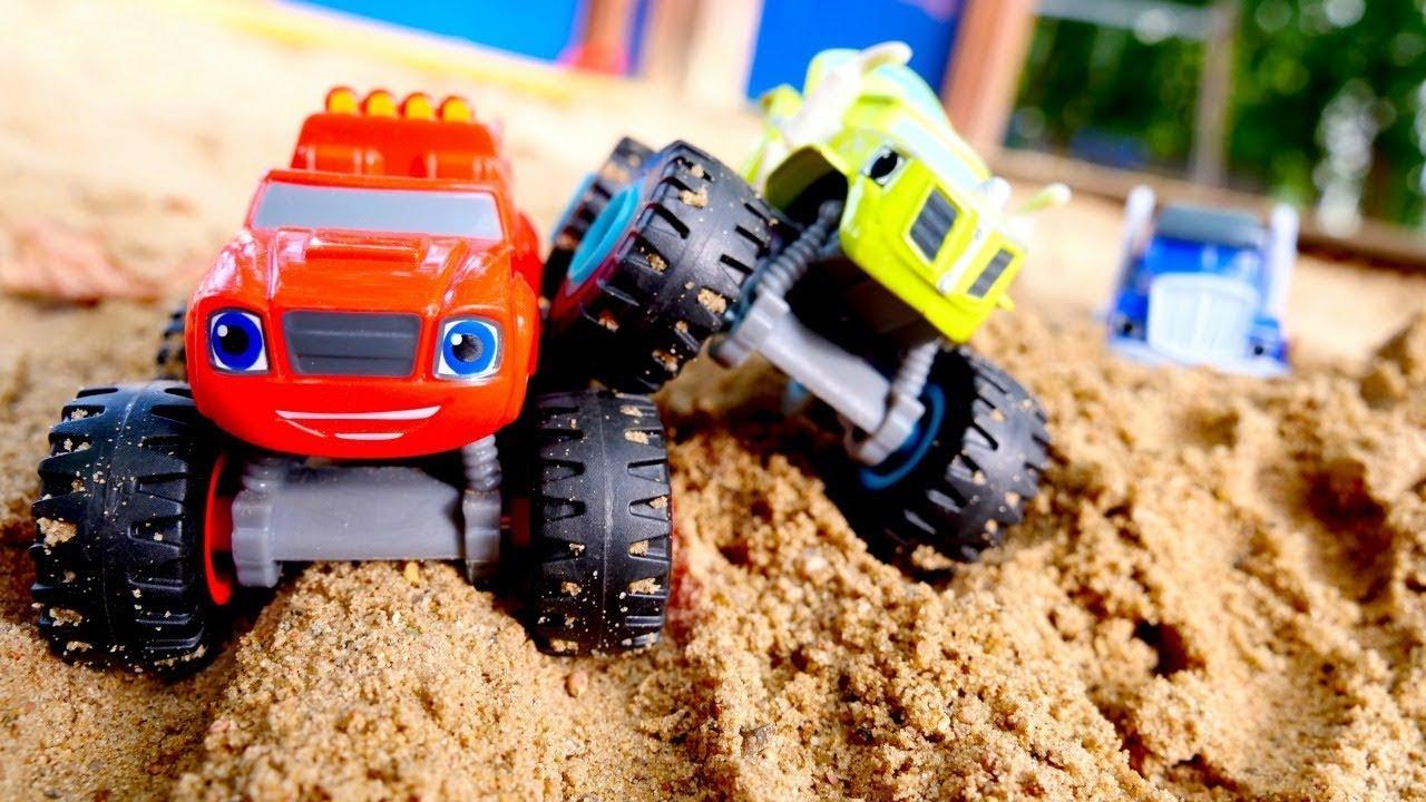 Видео про игрушки и машинки — Вспыш и чудо-машинки для ...