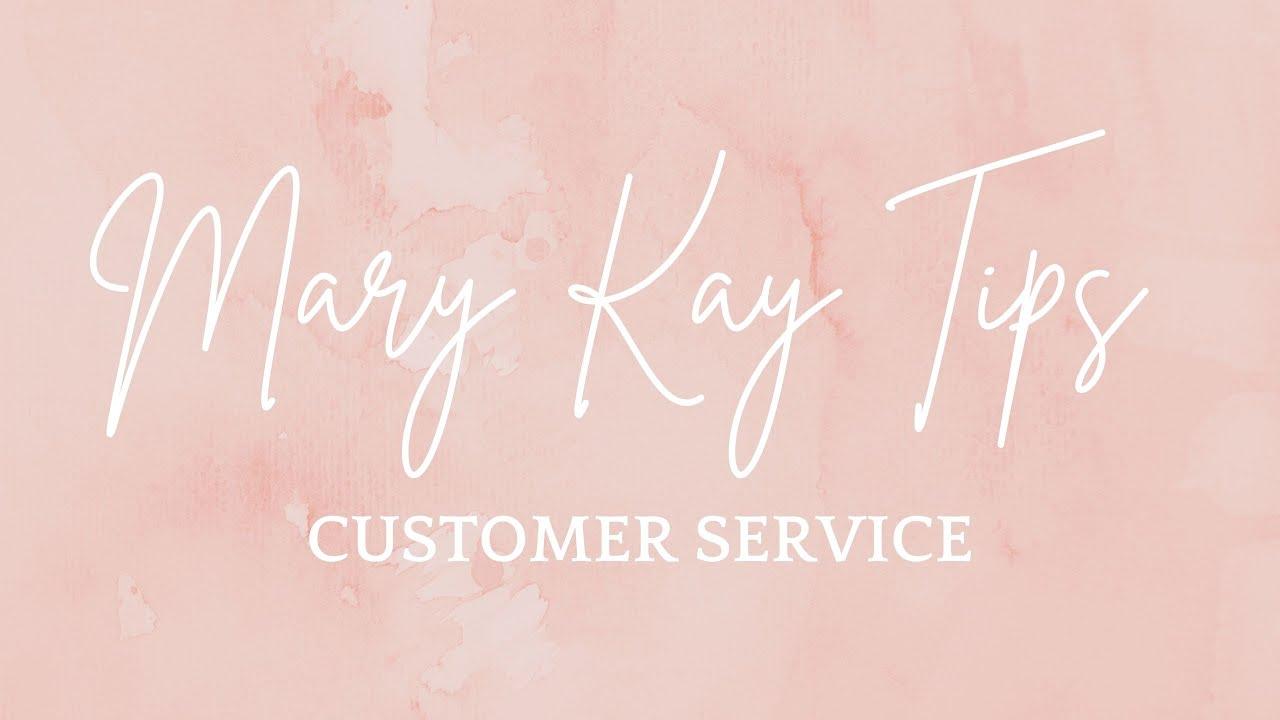 Mary Kay Customer Service - YouTube