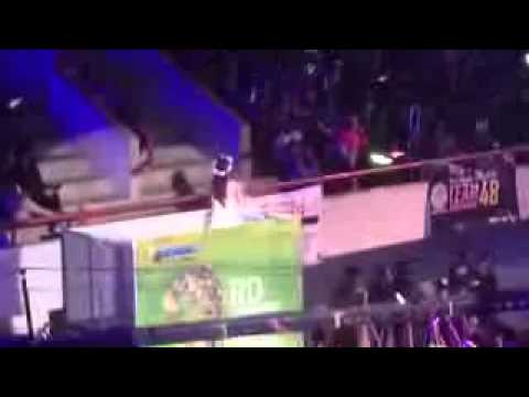 jessica veranda Yokaze no Shiwaza - JKT48 at JKT48 3rd Anniversary Concert part 2