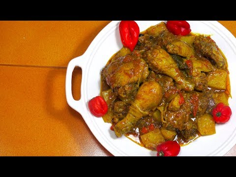 West Indian Chicken Curry - How to make Chicken Curry - Caribbean Chicken - Jamaican Curry