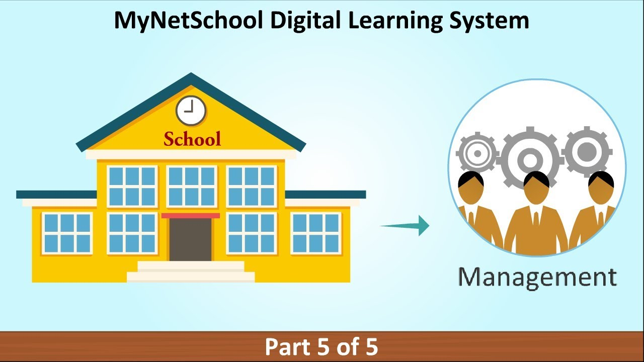 MyNetSchool Digital Learning System Presentation - Part 5 of 5
