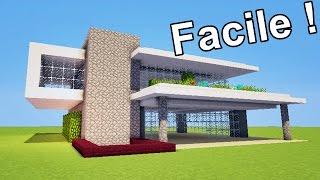 Comment faire une maison moderne sous terre sur minecraft tuto - Comment faire une maison moderne sur minecraft ...