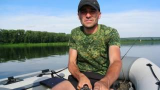 река Томь ловля окуня на блесну 26 06 2016