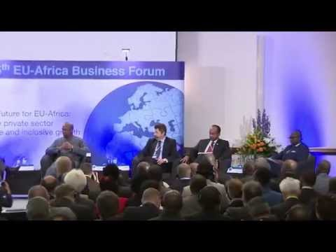 Africa investor Chairs EU-Africa Heads of State Business Summit Panel