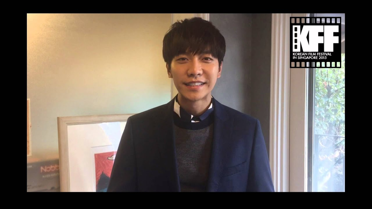 Lee Seung Gi Sends Video Greeting For 2015 Kff In Singapore Youtube