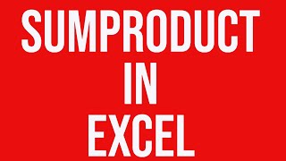 Practical Solution Using Sumproduct In Ms Excel