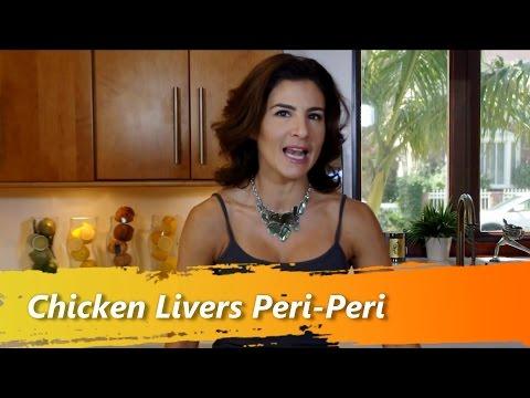 Chicken Livers Peri-Peri - Chef Melissa Mayo