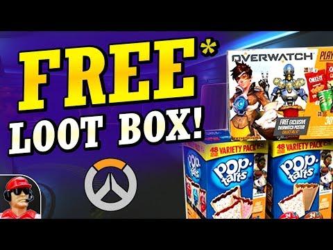 FREE Loot Box Poptarts, Busan Map Update, & More Avoid As Teammate Slots! (Overwatch News)