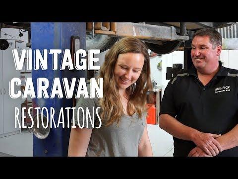 Vintage Caravan Restorations in New Zealand - YouTube