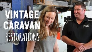 Vintage Caravan Restorations in New Zealand