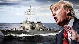 """Trump Says """"That's Too Bad"""" When He Learns That 10 U.S. Sailors Are Missing At Sea"""